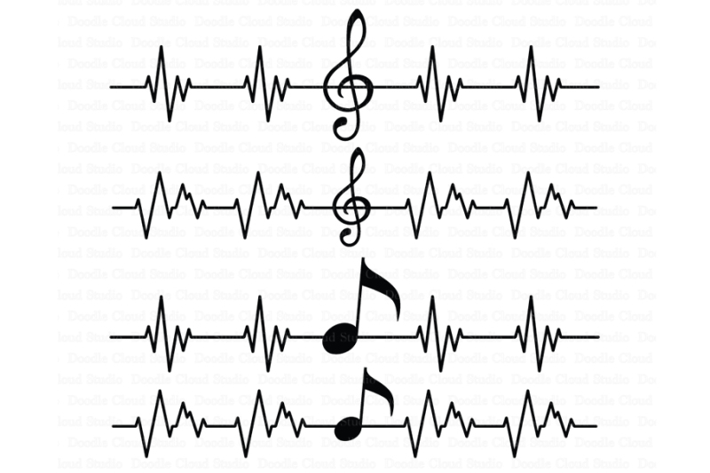 musical-notes-svg-musical-heart-beat-svg-files-treble-clef