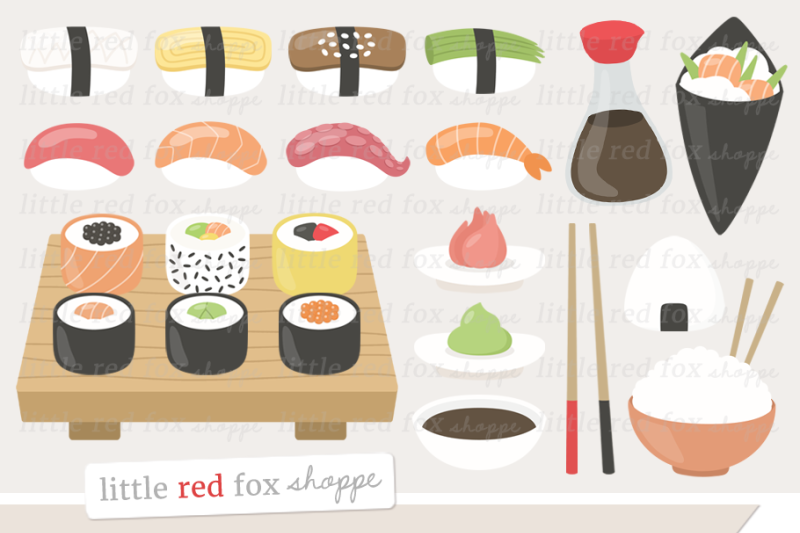 sushi-clipart
