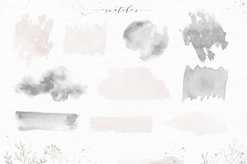 alpine-forest-watercolor-alphabet-animals-and-design-elements