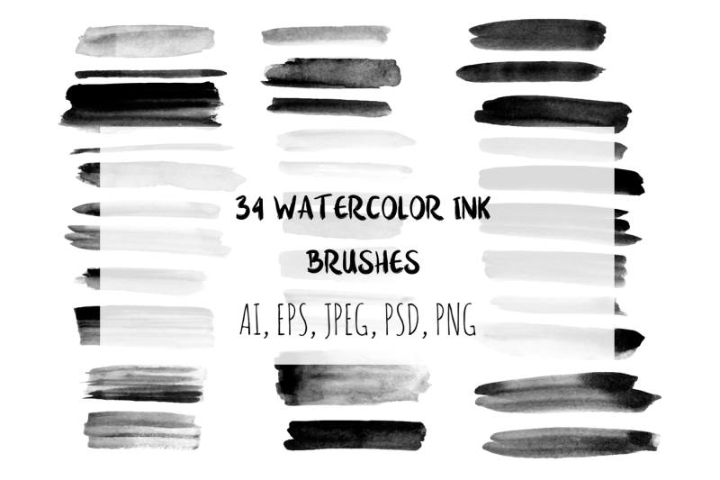 34-watercolor-ink-brushes