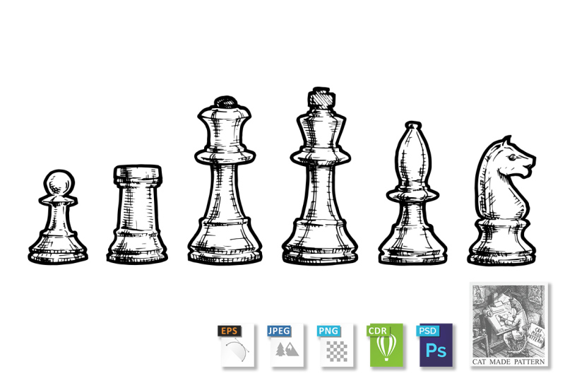 drawing-of-chess