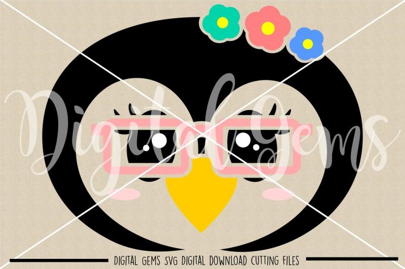 penguin-face-svg-dxf-eps-png-files