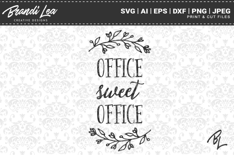 office-sweet-office-svg-cut-files