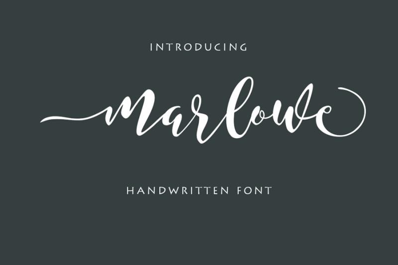 marlowe-script-font