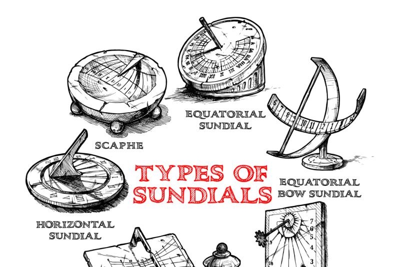 set-of-different-sundials