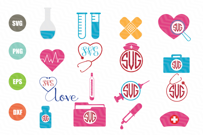 nurse-svg-bundle