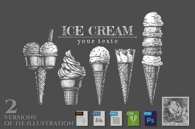 set-of-ice-creams