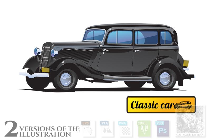 retro-classic-car