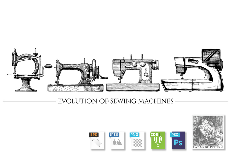 evolution-of-sewing-machines