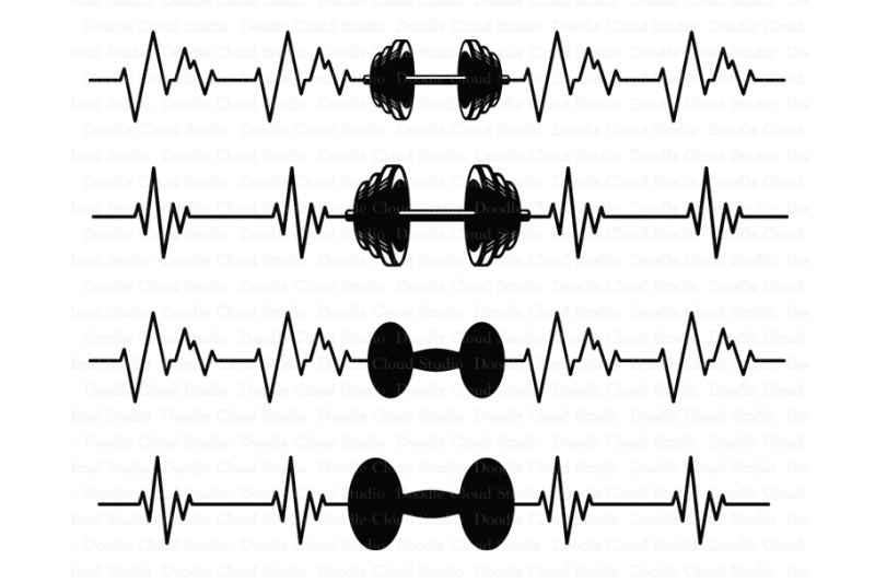 heartbeat-weights-svg-crossfit-svg-files
