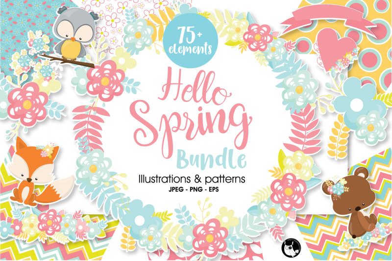 hello-spring-bundle-graphics-and-patterns