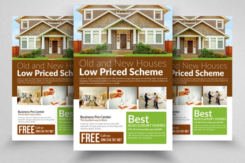 10-real-estate-flyer-bundle