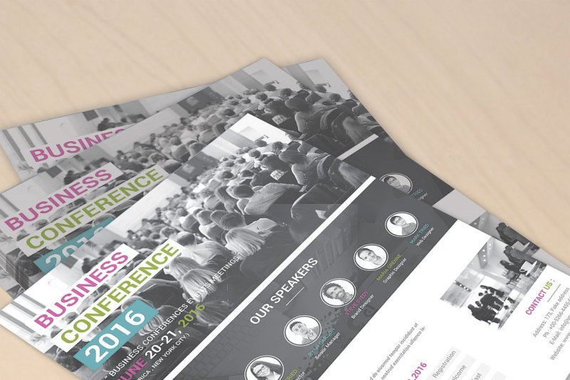 conference-flyer-template