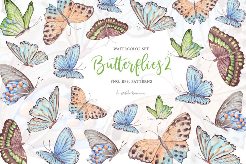 watercolor-butterflies-2