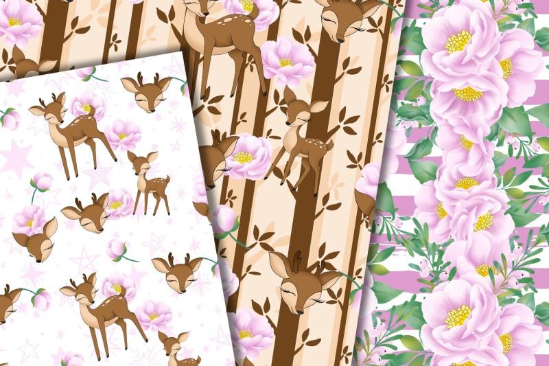 deer-digital-pattern