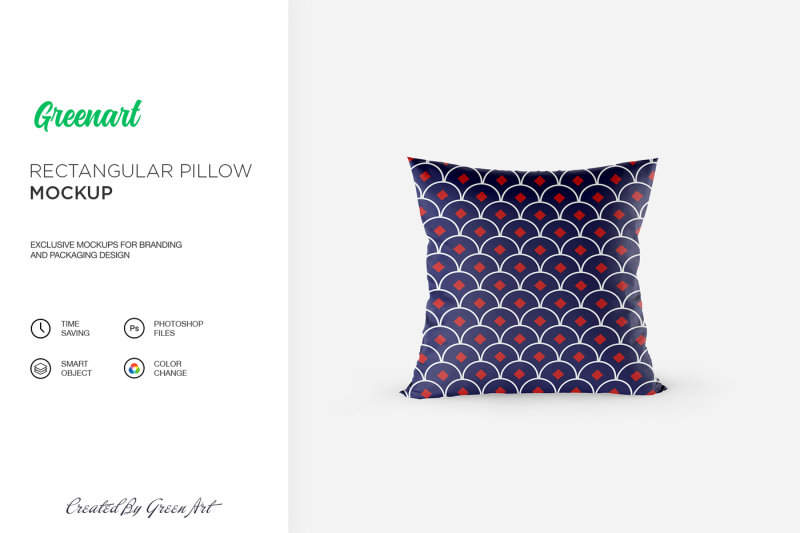 Free Rectangular Pillow Mockup (PSD Mockups)