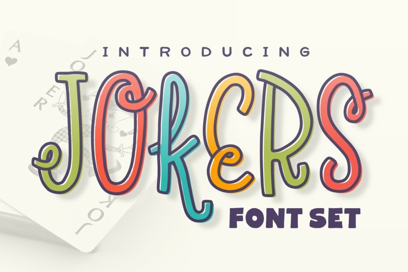 jokers-font-set