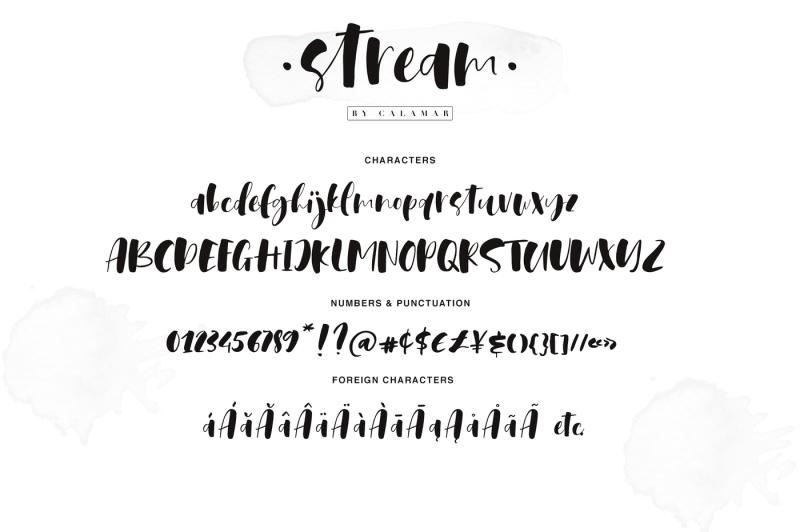 stream-font