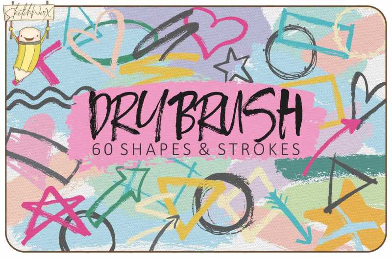 dry-brush-strokes-and-shapes