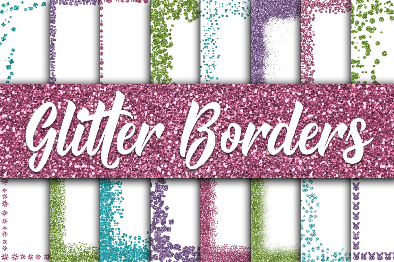 easter-glitter-borders-digital-paper