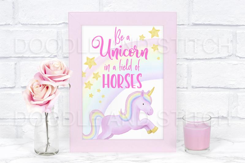 watercolor-unicorn-clipart-illustrations