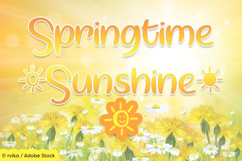 springtime-sunshine