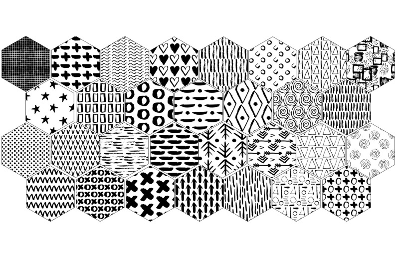 30-seamless-ink-marks-patterns