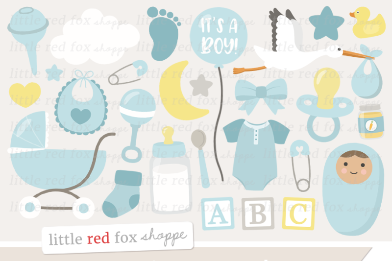 new-baby-boy-clipart