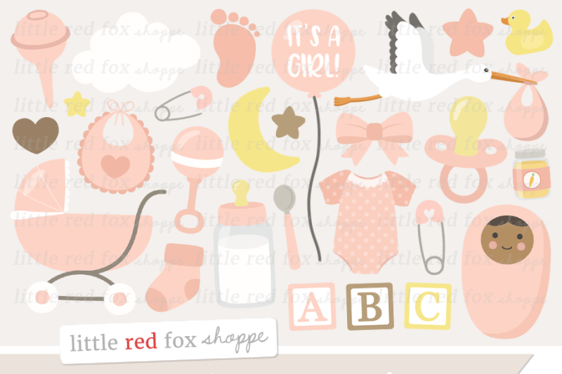 new-baby-girl-clipart
