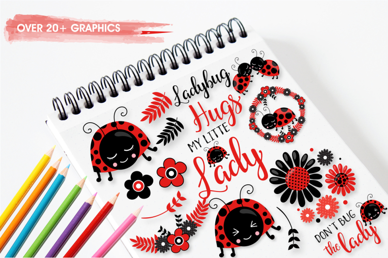 little-ladybug-graphics-and-illustrations
