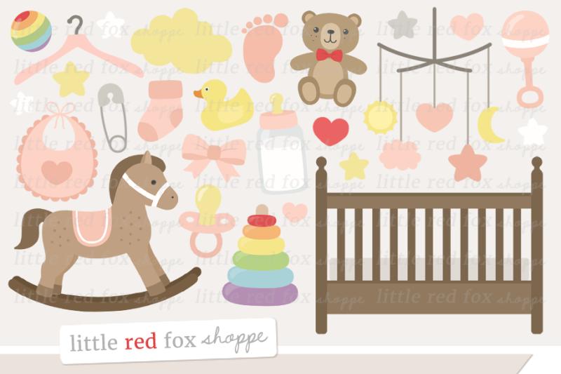 baby-girl-nursery-clipart