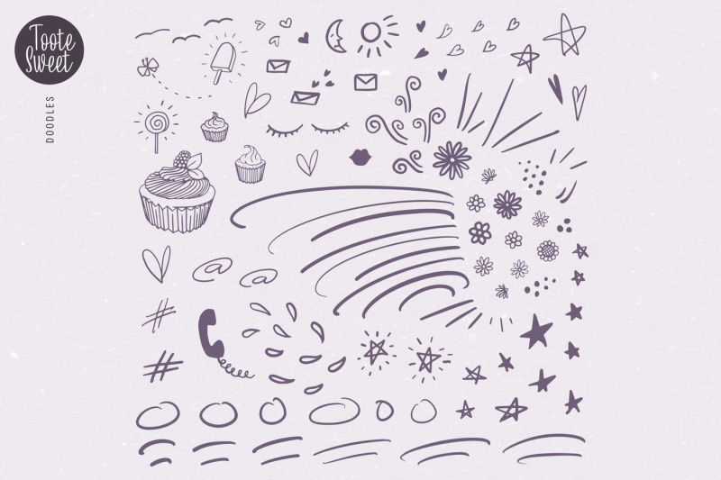 toote-sweet-a-condensed-script-amp-extra-doodles