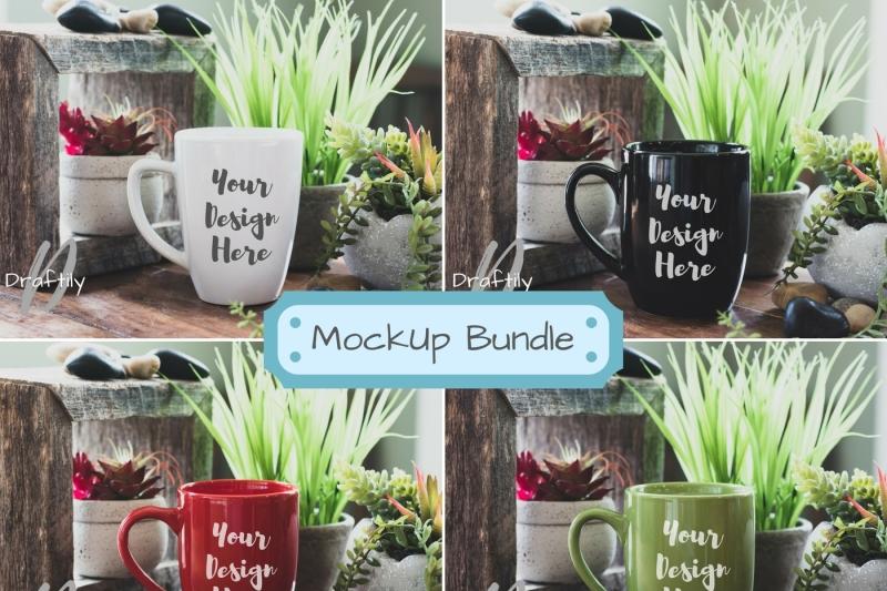 Free Coffee Mug Mockup Bundle 101 (PSD Mockups)