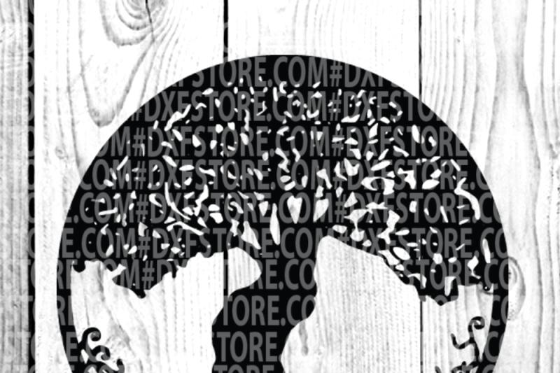 life-of-tree-family-tree-tattoo-vector-clip-art