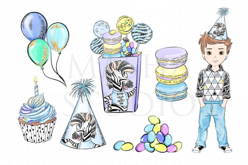 boy-birthday-party-clipart