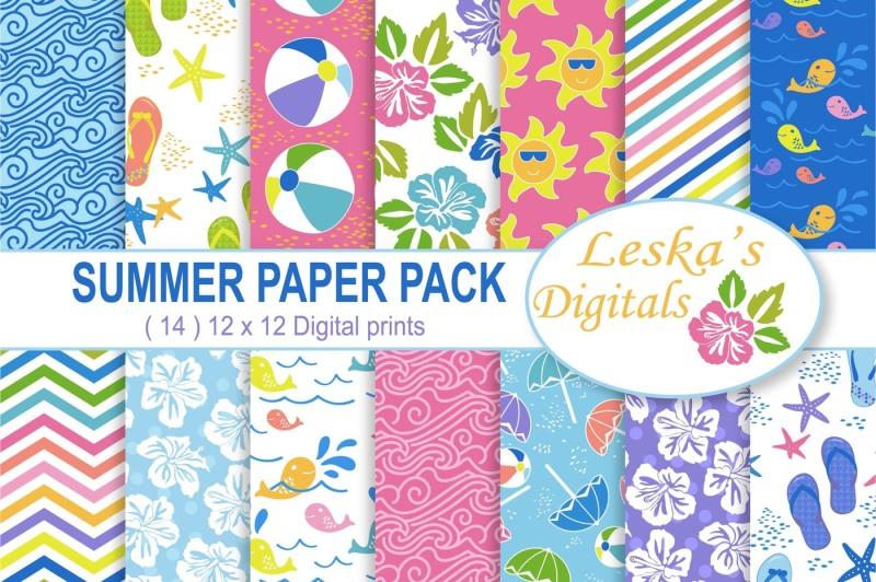 summer-digital-paper