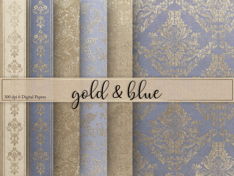 gold-and-blue-digital-paper