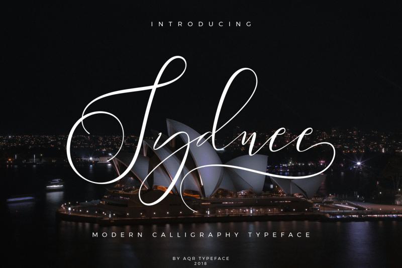 sydnee-modern-calligraphy-font