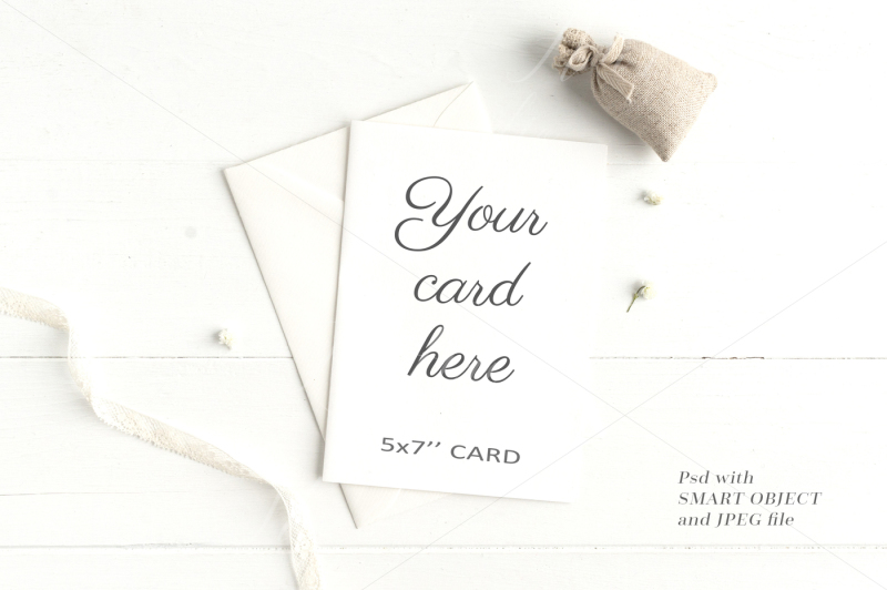 Free Wedding Stationery Mockup - crd208 (PSD Mockups)