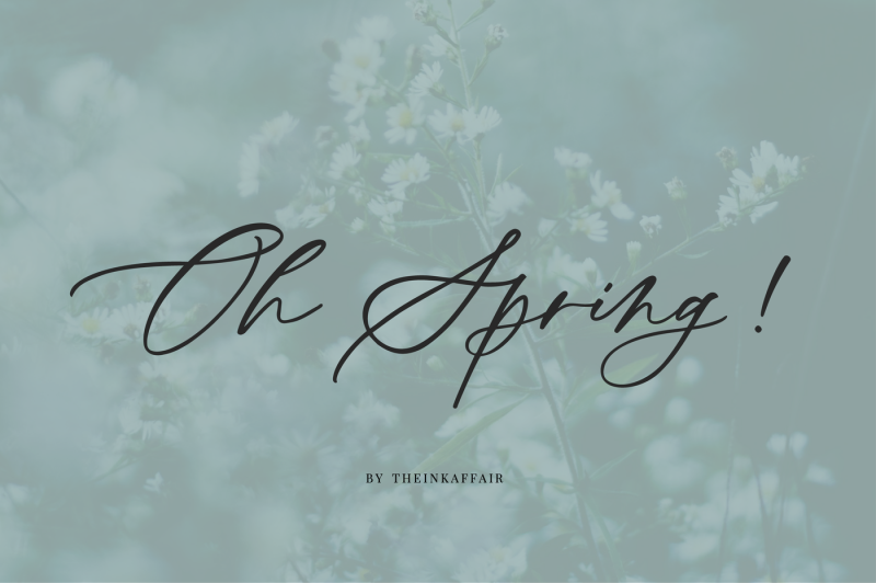 oh-spring-calligraphy-font