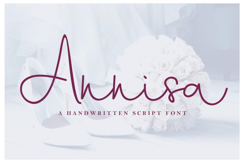 annisa-script-font