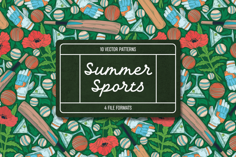 summer-sports-patterns