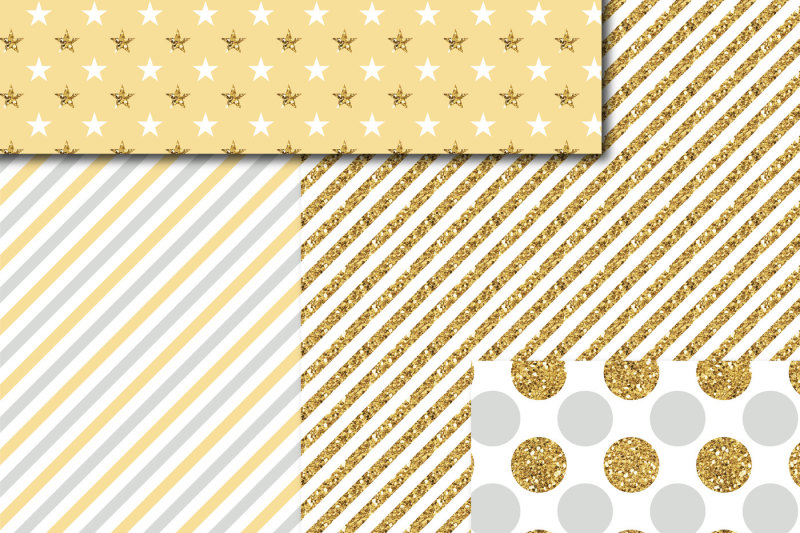 gray-and-yellow-digital-paper-with-gold-glitter-mi-800