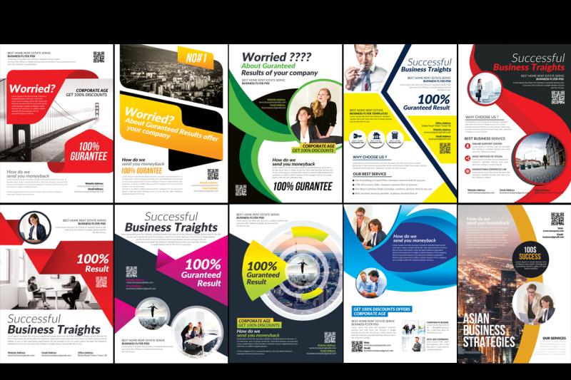 100-business-flyers-mega-bundle