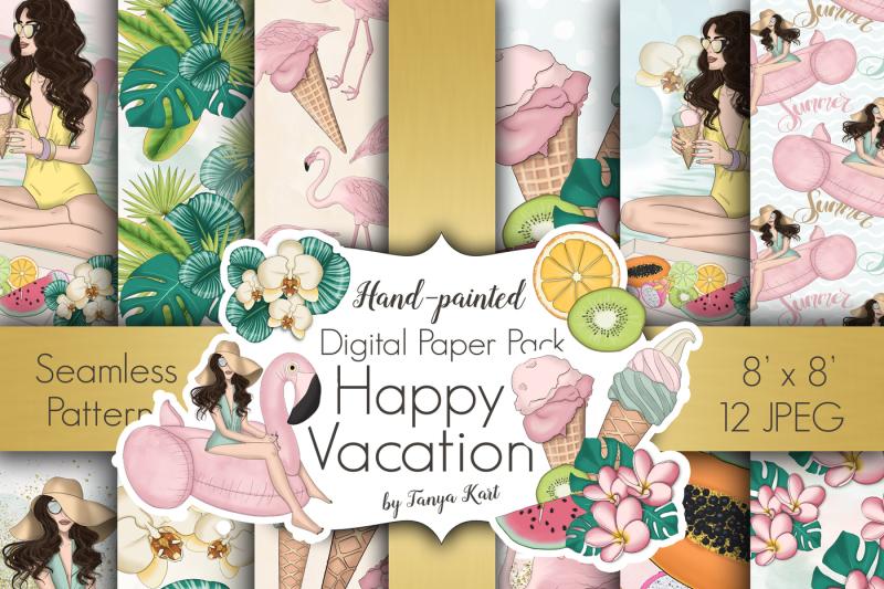 happy-vacation-summer-design-kit