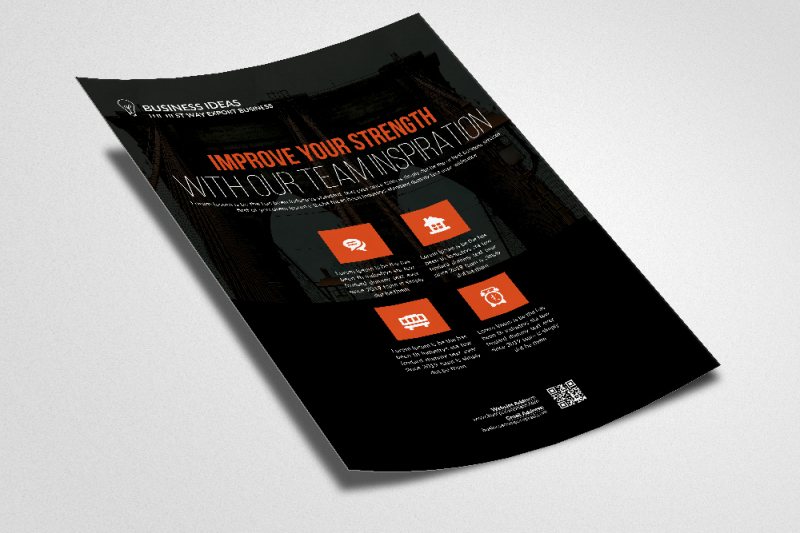 business-training-flyer-templates