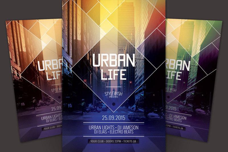 urban-life-flyer