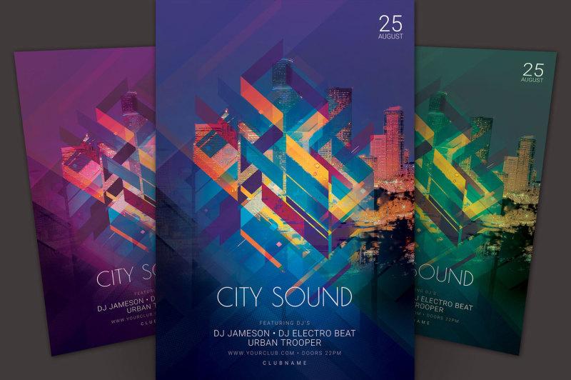 city-sound-flyer