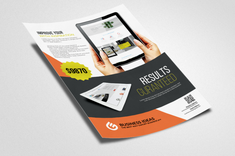 website-design-service-flyers