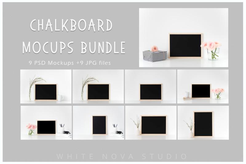 chalkboard-mockup-bundle